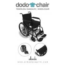 Sırt katlanabilir tekerlekli sandalye