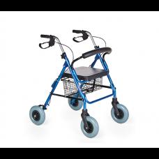 Kalın tekerlekli alüminyum rolatör